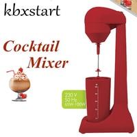 Kbxstart Electric Milk Frother Cappuccino 220V Espumador De Leche Coffee Foamer Melkopschuimer Mixer Blender Montalatte EU Plug