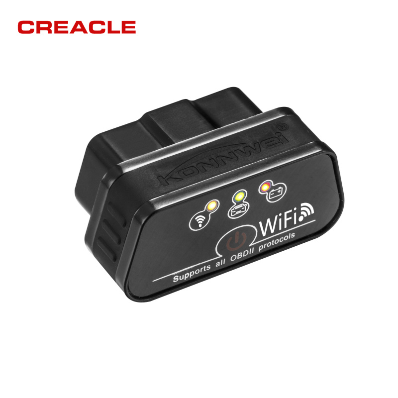 2018 New Konnwei KW901 OBDII WIFI OBD2 Car Diagnostic Scanner Detector Tool Code Reader  ...