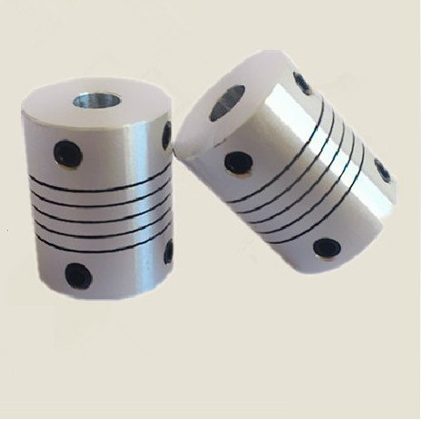New Aluminum alloys Elastic thread coupler for Encoder special coupling or servo and stepper motor size D=25 L=30 D1=8mm D2=10mm new flexible aluminum alloys double diaphragm coupling for servo and stepper motor couplings d 44 l 50 d1 and d2 are 8 to 20 mm