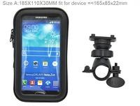 Bicycle Bike Mobile Phone Holder Waterproof Touch Screen Case Bag For BlackBerry DTEK60 Asus Zenfone 2
