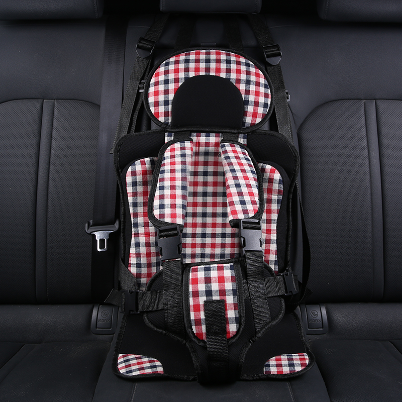 Portable Baby Chair Seats Simple Infant Cushion Booster Seat Baby Chair In The Car Thicken Sponge Kids Stroller Seat Pad 0-4Y