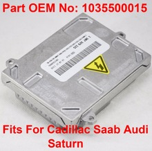 2x 12V 35W D1S D1R D2S D2R OEM HID Xenon Headlight Ballast Control Unit Car Part Number 1035500015 Fits For Cadillac Saab Audi