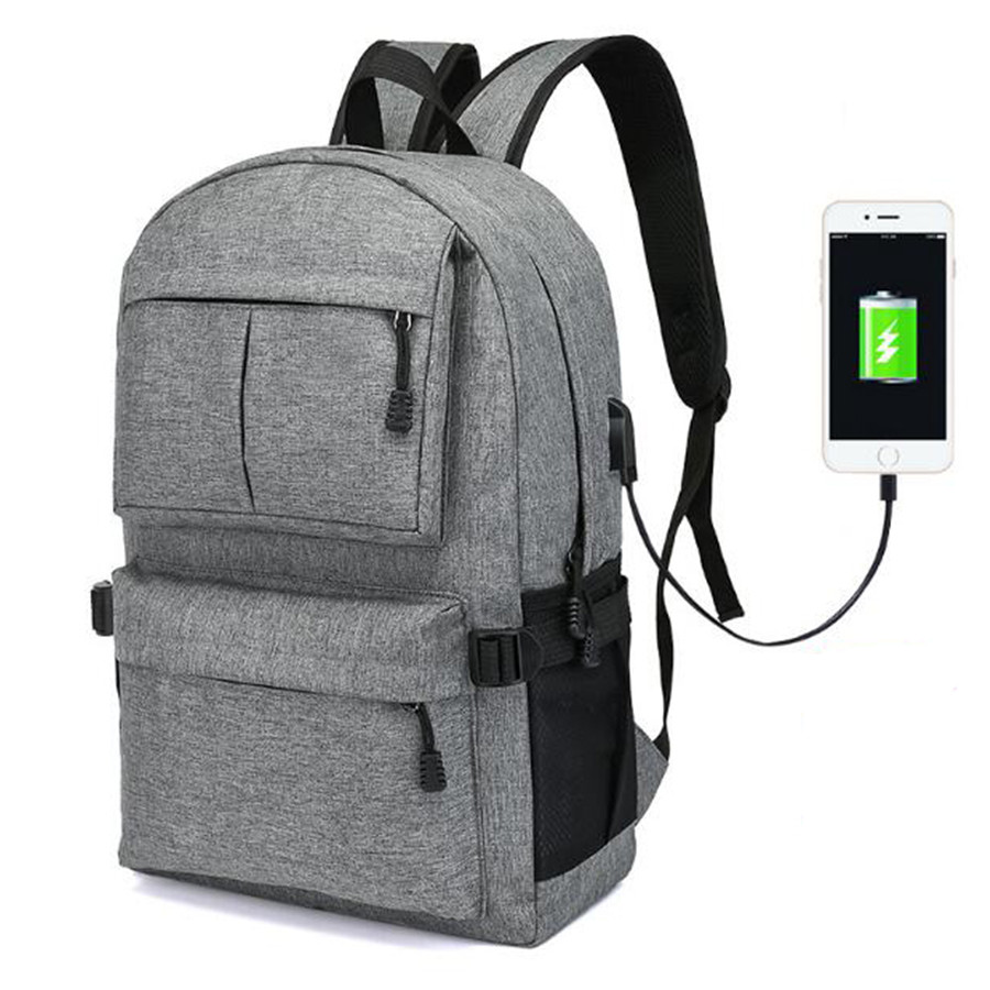 Design Anti theft USB Charging Backpack Men's Backpacks Male Casual women Teenagers Student School Bags Simple Notebook Laptop new gravity falls backpack casual backpacks teenagers school bag men women s student school bags travel shoulder bag laptop bags