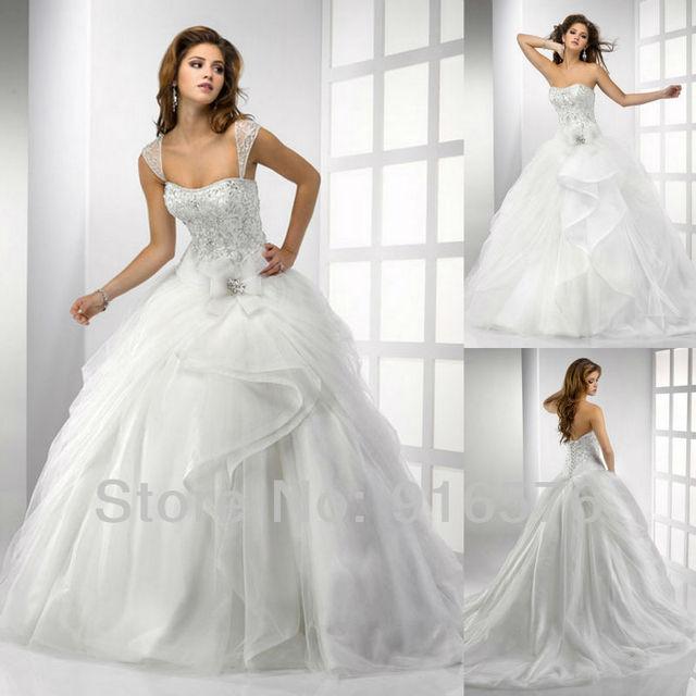 vestido de novia exuberante arco vestido de bola casa cariño 2013