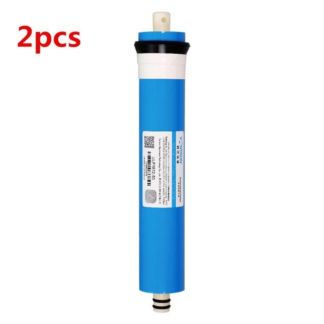 2ชิ้นV Ontron 50gpdน้ำกรองสำหรับV Ontron ULP1812 50 RO M EMBRANEย้อนกลับosmosisกรองสำหรับใช้ในครัวเรือนส่วนน้ำกรอง
