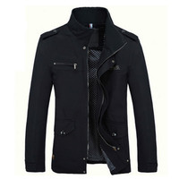 2017 Brand Winter Men Thick Warm Parka Hooded Jacket Mens Cotton Parkas Winter Jacket For Men