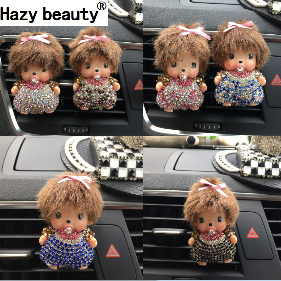 Hazy beauty Car perfume Lovely Car air cleaner High grade air conditioning Tuyere Perfume car air freshener Car-styling