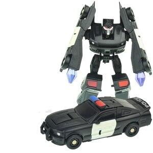 Image 5 - Оригинальная коробка, 7 стилей, роботы трансформеры, экшн фигурки, мини автомобили, робот, Классическая модель, игрушки для детей, подарки, Brinquedos
