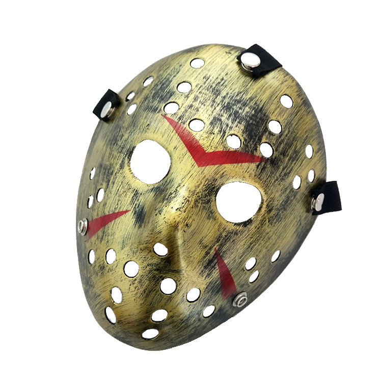 100 pcs/lot Jason Voorhees masque jouet Jason vs Freddy hockey festival partie tueur Halloween masques mascarade-in Parti Masques from Maison & Animalerie    1
