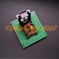 IC51-0804-1200 gniazdo testowe TQFP80 LQFP80 QFP80 gniazdo ic z PCB skok = 0.5mm