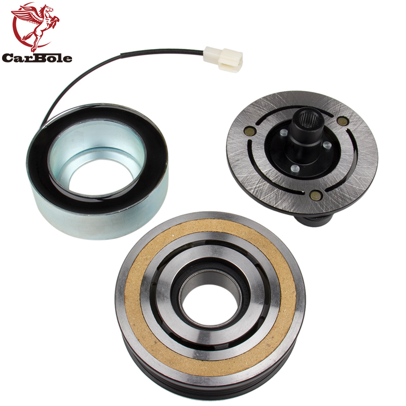 CARBOLE fit for MAZDA 3 5 A/C AC Compressor Clutch KIT -Front Plate Bearing and Coil 2004-2009 3 2.0L 2.3L 2006-2010 5 2.3L