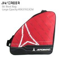 JayCreer Лыжная сумка для ботинок для лыжного спорта и сноубординга багаж для магазинов снаряжение включает пиджак шлем очки перчатки и аксессуары