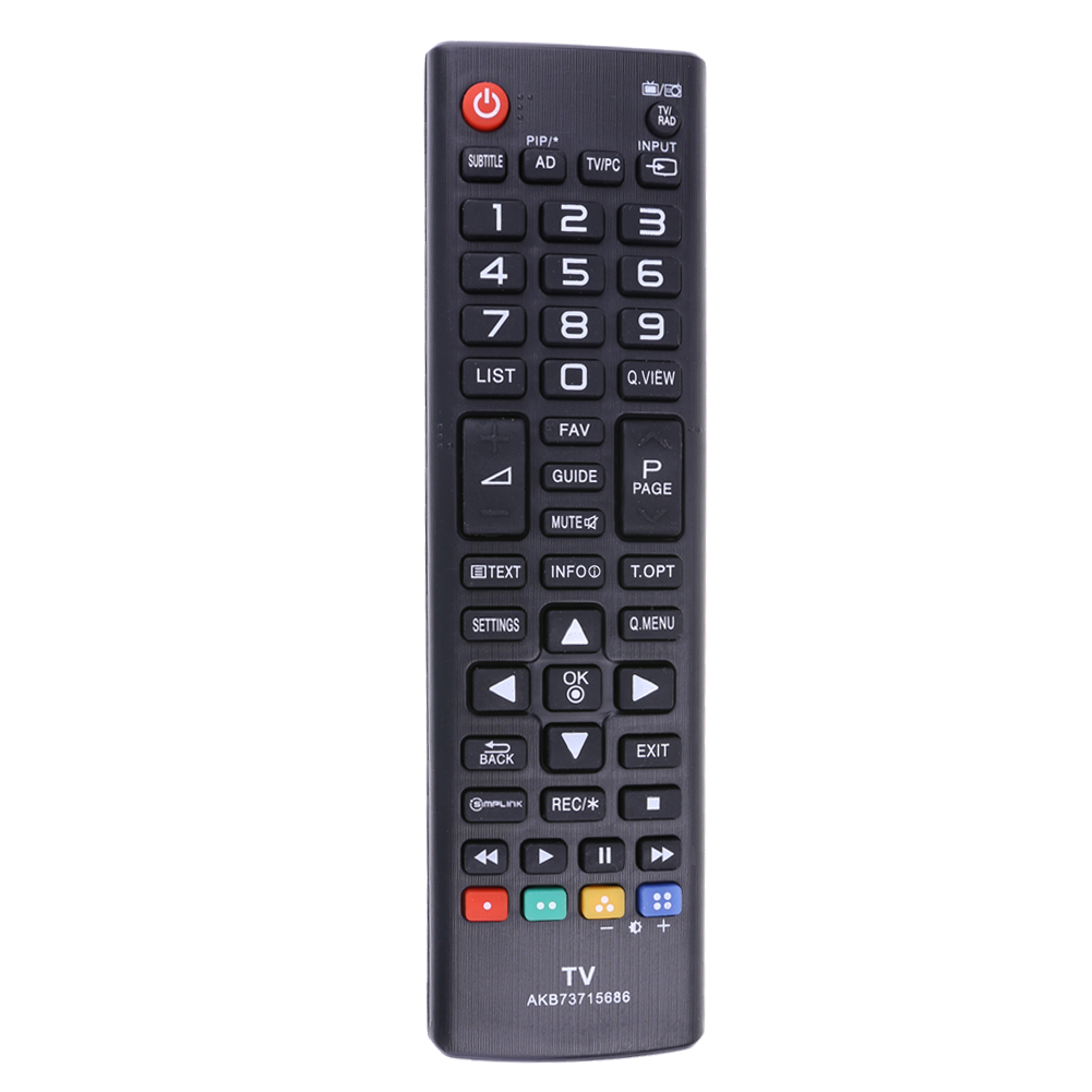 Universal AKB73715686 TV Remote Control for LG AKB73715686 TV Smart Control Remote Powerd by AAA Battery