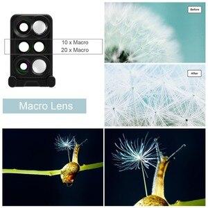 Image 4 - 8 Plus Dual Camera Lens For Apple iPhone X 8 Plus Telescope Lens Fisheye Wide Angle Macro Lens For iPhone 7 Plus Black
