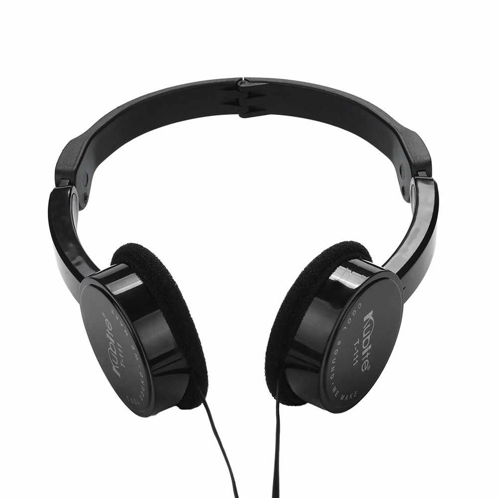 Kubite เด็กสายหูฟังสเตอริโอชุดหูฟังสำหรับเด็กหูฟังขนาดใหญ่ฟรี Talk Mp3 เพลงเกม