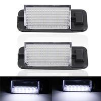 New Arrival 2x 18 LED 3528 SMD License Plate Light For BMW E36 Ti 323i 325i