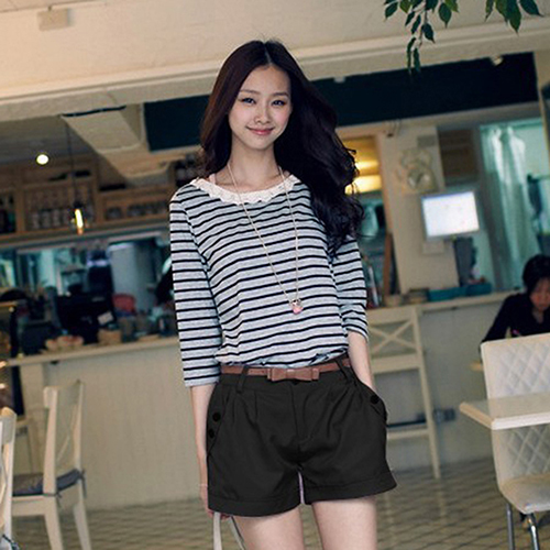 New Women's Summer Fashion Korean Style Short Pants Casual Loose Shorts New Arrival