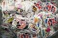 Перевозка груза падения Мода прохладный DIY Наклейки для Багажа Скейтборд Ноутбука Сноуборд Холодильник Телефон игрушка Дизайн домашний декор Наклейки