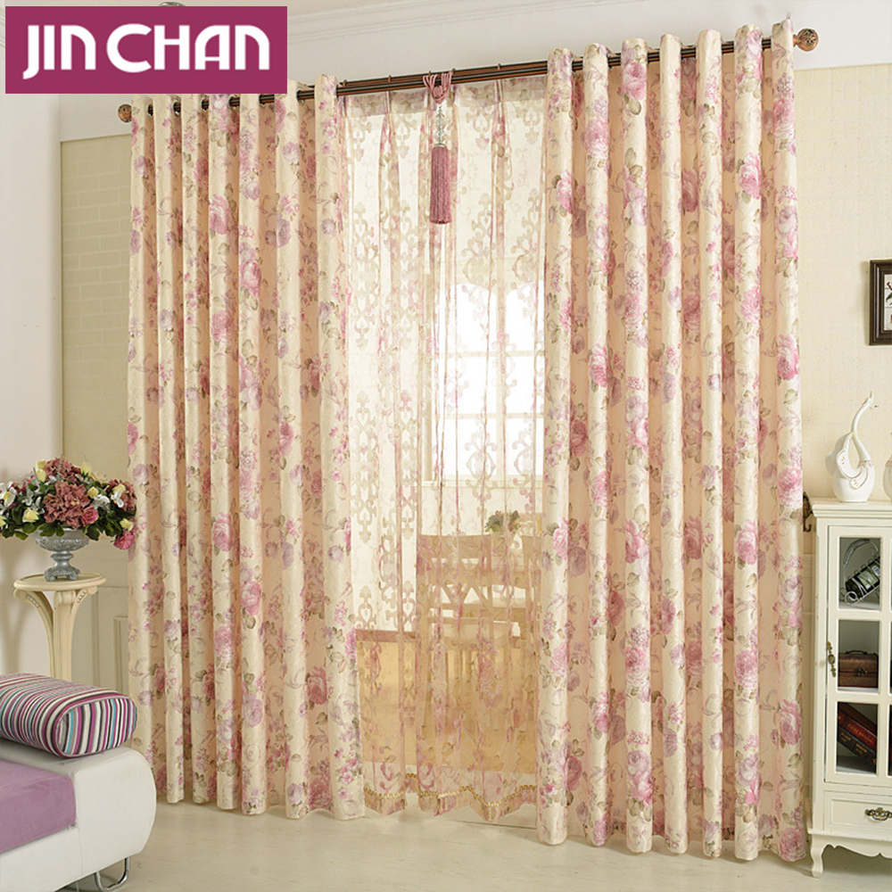 Blackout curtains for bedroom - Popular Bedroom Window Treatments Custom Made Luxury Europe Jacquard Floral Blackout Curtains Living Room Bedroom Window Treatments Shades