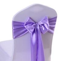 RUBIHOME 1 Roll 20 Meter Width 15cm Chair Sash Band Silk Ribbon Hair Cover For Wedding