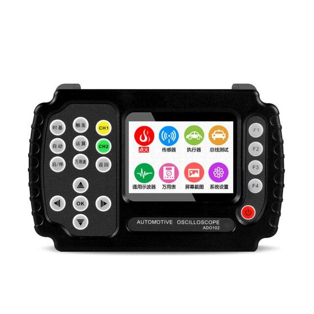 Special Offers NEW ADO102 Automotive Oscilloscope,Handheld Digital Storage Oscilloscope and Digital Multimeter,car repair oscilloscope