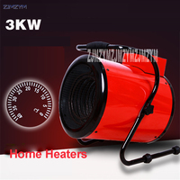 1pc AS E003 High Power Domestic Industrial Thermostat Fan Heaters Warm Air Heater Fan Steam Air