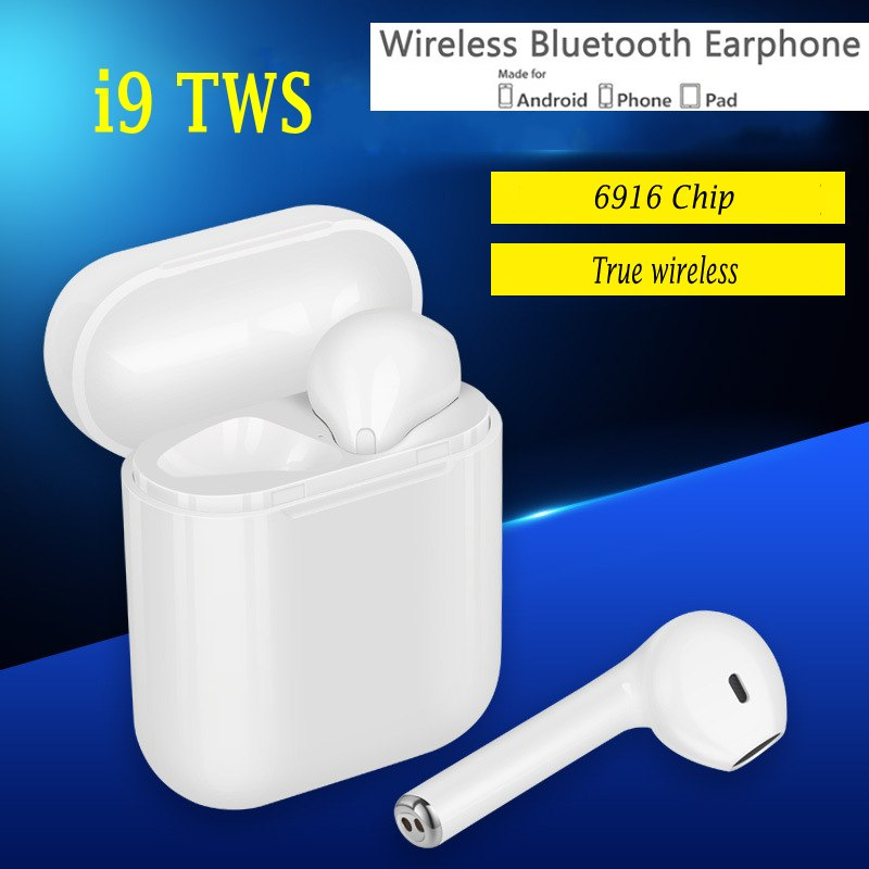 IFANS i9 TWS V4.2 Auricolare Senza Fili Auricolari Bluetooth Coppia In-Ear Musica Auricolari Set Per Apple iPhone X 8 Samsung Xiaomi