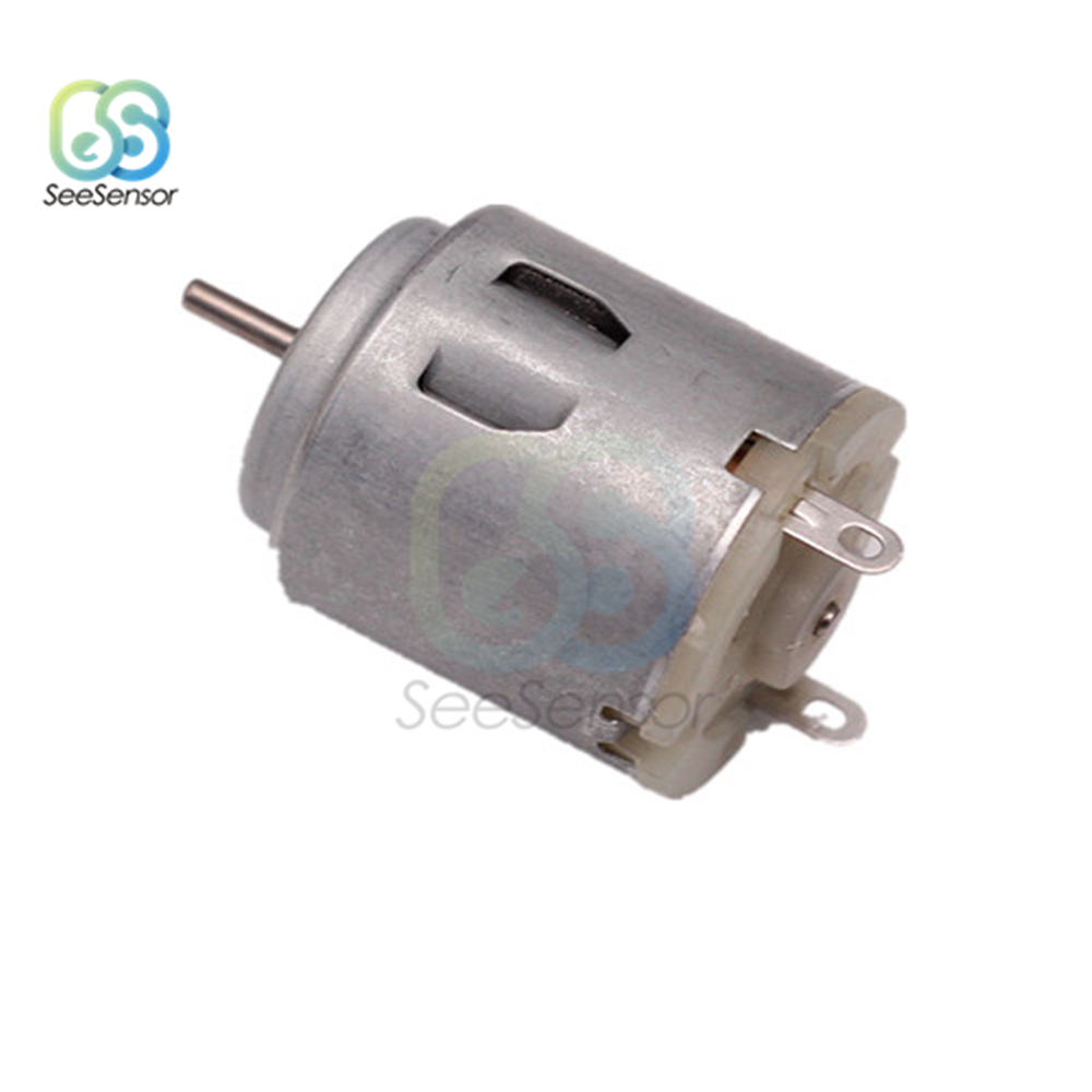 DC 1.5V 3V Mini Micro DC Motor for DIY Toys Hobbies Smart Car Motor 130 180 300 370 380 610 612 614 716 720 Hobby Gear Toy Motor Pakistan