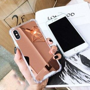 Image 2 - Raxfly مرآة حافظة لهاتف Huawei P30 P20 لايت برو الغطاء الخلفي لهواوي زميله 20 10 لايت P الذكية 2019 الشرف 20 10 لايت 8X كوكه