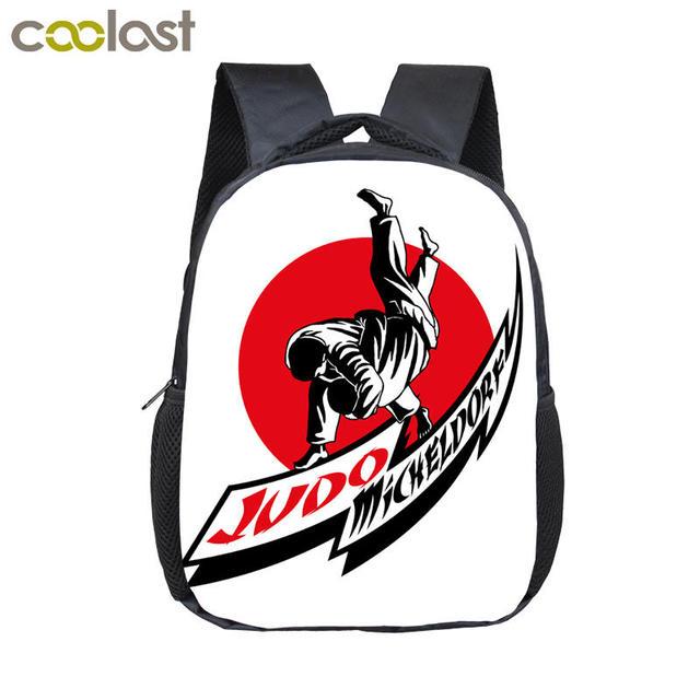 Cool Judo Baby backpack for boys Kids Kindergarten Bag Boys School  Backpacks Children Book Bag Mini Toddler Backpack Best Gift 59d46b58c9e21