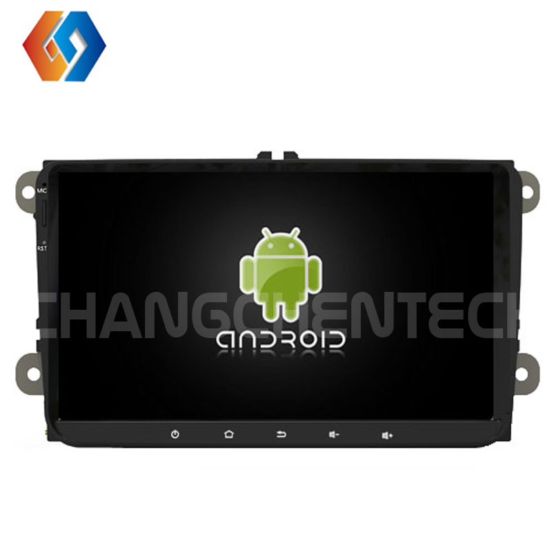 Car Radio for Volkswagen Universal Android 9.0 Octa Core 4G ROM 32G RAM Touch Screen GPS Navigation 2 din Car Stereo BT WiFi