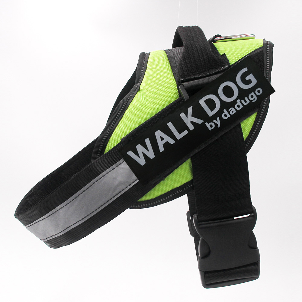 Dadugo pet Harness for Dog Harness Reflective Adjustable dog Harness xs/s/m/l/xl/xxl size 6 colors drop shipping 2