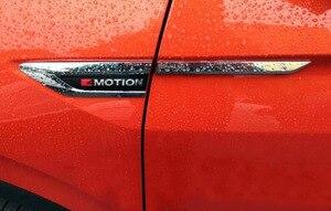Image 1 - 4 Motion 4Motion 4X4 original door Side Wing Fender Emblem Badge sticker Trim for 2016 2017 2018 VW Tiguan mk2
