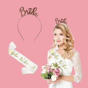 Image 3 - Galinlife balões laminados de alumínio, balão de letras para decoração de festa de despedida de solteira, casamento e noiva
