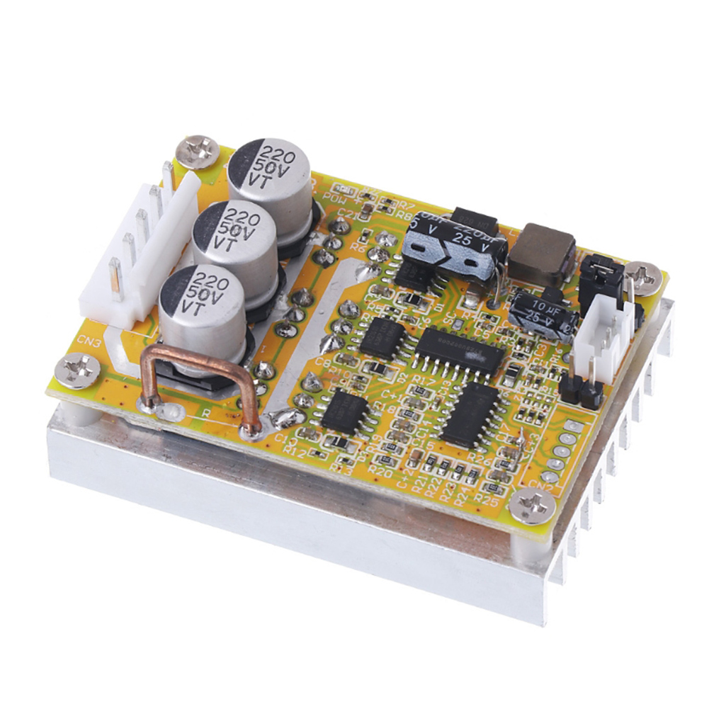 Brushless With Heat Sink Mini For BLDC Electric E-scooter Motor Controller Easy Apply Driver Board E-bike Bicycle Speed StableBrushless With Heat Sink Mini For BLDC Electric E-scooter Motor Controller Easy Apply Driver Board E-bike Bicycle Speed Stable