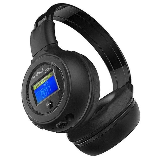 Auscultadores наушники Bluetooth 4.0 Стерео Беспроводной Гарнитуры с Микрофоном Микрофон Mp3-плеер для Компьютера Фанатик B570
