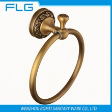 Free Shipping Bathroom Accessories Antique Brass Towel Ring