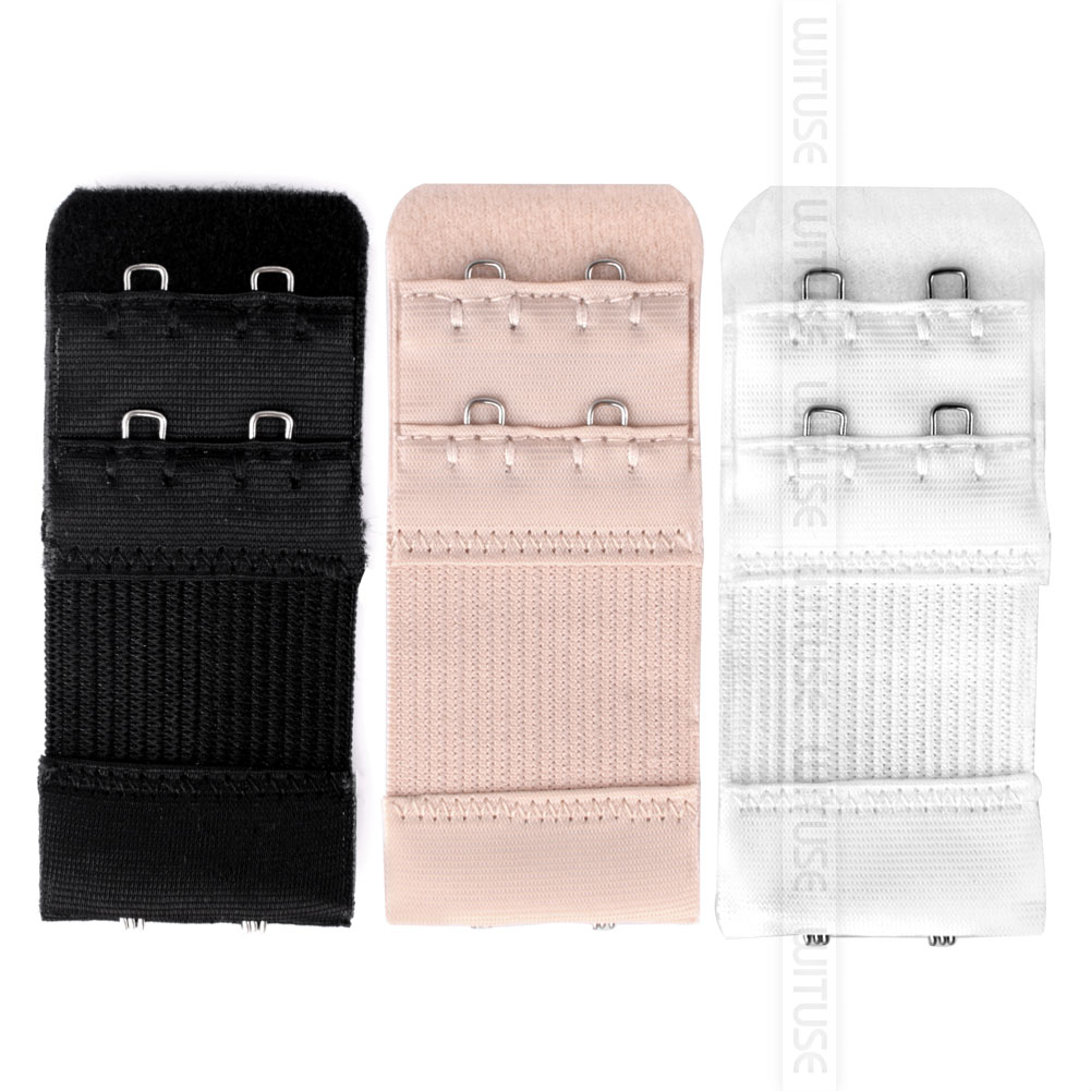 Flexible Women Bra Extension Clip On Strap Elastic 2 Rows Underwear Extender Replacement Clasp Sewing Tool Intimates Accessories in intimates 39 accessories from Underwear amp Sleepwears