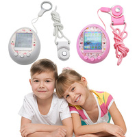 Colourful machines HD Color Screen Handheld machine Virtual Pet Kids Toy Console Electronic Pet Game Classic 1 pcs