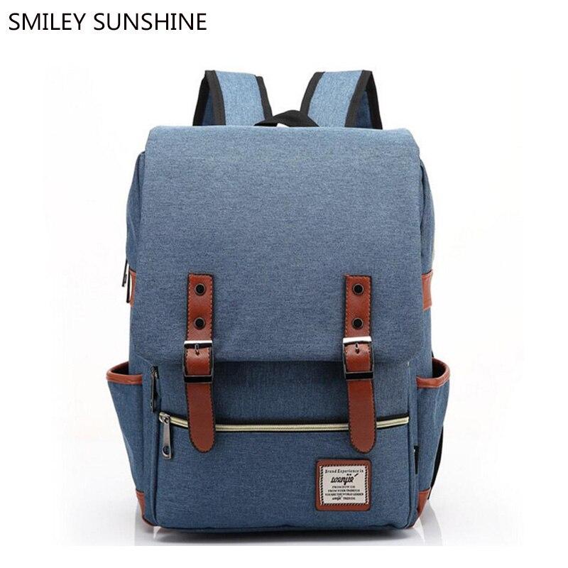 Купить Холст школьный рюкзак Для мужчин модные Школьные ранцы для подростков  Обувь для девочек Корейский женственный Для женщин Рюкзак молодежны. 6d864eb8a4d