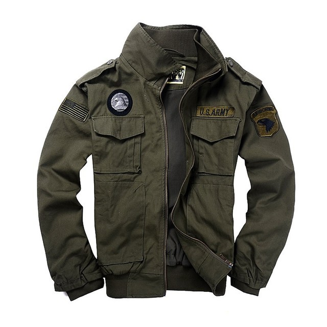BEst Jacket Spring and autumn men's thickness clothing 101 flight jacket Men jacket Military uniform