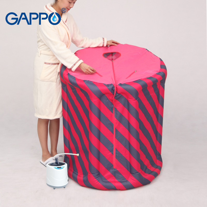 sauna accessory pvc frame sauna pvc fram tube for steam sauna GAPPO Steam Sauna home sauna Beneficial skin suits for weight loss Relaxes tired sauna sweat with sauna bag