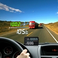 Universale per Tutte Le Auto di Velocità Proiettore sul Parabrezza A3 OBD2 Head Up Display Auto HUD Digitale Tachimetro Auto Accessori