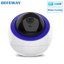 Defeway беспроводная Wifi ip-камера 2MP HD 1080P камера для дома с автоматическим отслеживанием, камера видеонаблюдения, Двусторонняя аудио
