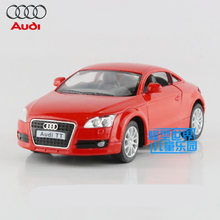 Free Shipping/KiNSMART Toy/Diecast Model/1:32 Scale/2008 Audi TT Coupe/Pull Back Car/Educational Collection/Gift For Children(China)