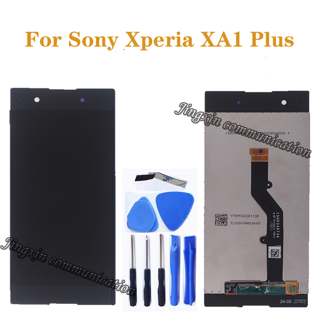 Original for Sony Xperia XA1 Plus G3426 G3421 G3412 LCD+touch screen replacement for Sony XA1 plus LCD mobile phone repair parts