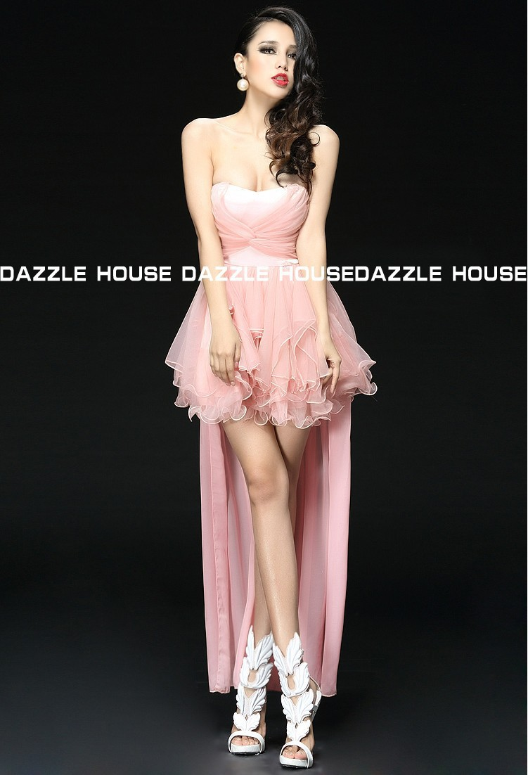 Popular Pink Cocktail Dress-Buy Cheap Pink Cocktail Dress lots ...