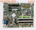 614036-002 para hp compaq 6200 6280 placa madre de escritorio 615114-001 611794-000 q65 lga1155 placa base 100% probados y funciona plenamente