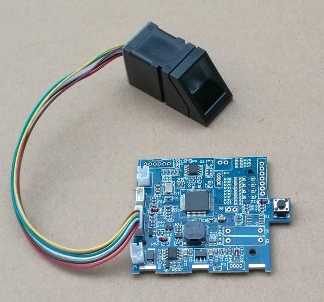 Tablero de control de huellas dactilares módulo Biométrico de R307 y K201