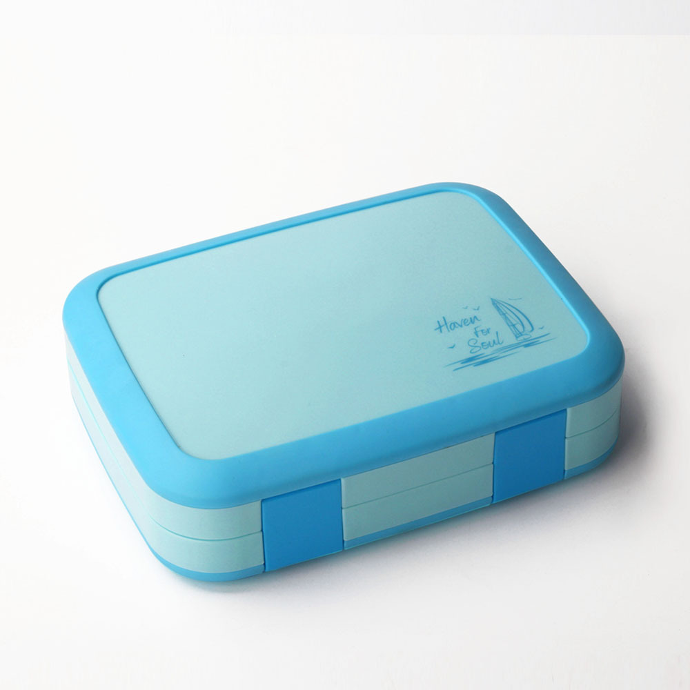TUUTH Microwave Lunch Box Portable Multiple Grids Bento Box for School Student Kids Children Dinnerware Food Storage Container5